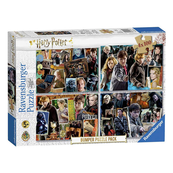 RAVENSBURGER PUZZLE 4 IN 1 HARRY POTTER