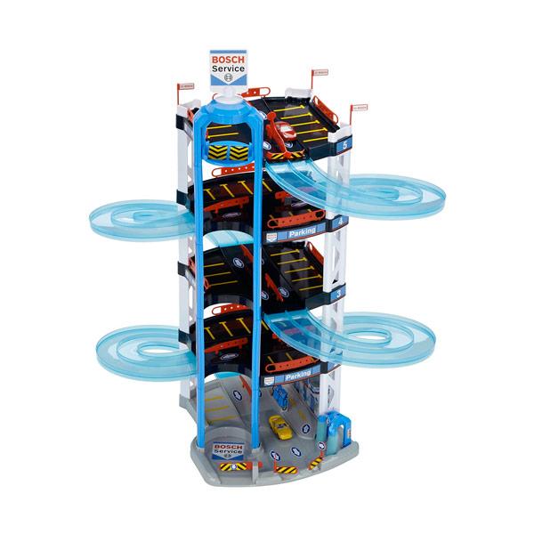 Vespoli giocattoli giochi preziosi garage 5 livelli bosch for Garage a 2 livelli
