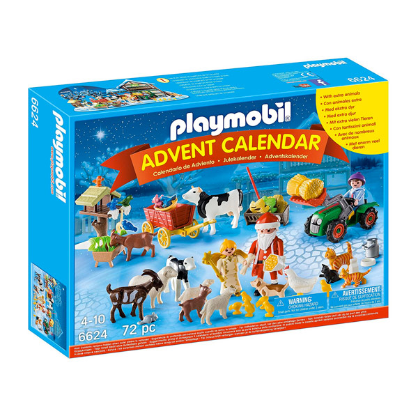 Calendario Avvento Playmobil.Playmobil Calendario Dell Avvento Natale Nella Fattoria Vespoli Giocattoli
