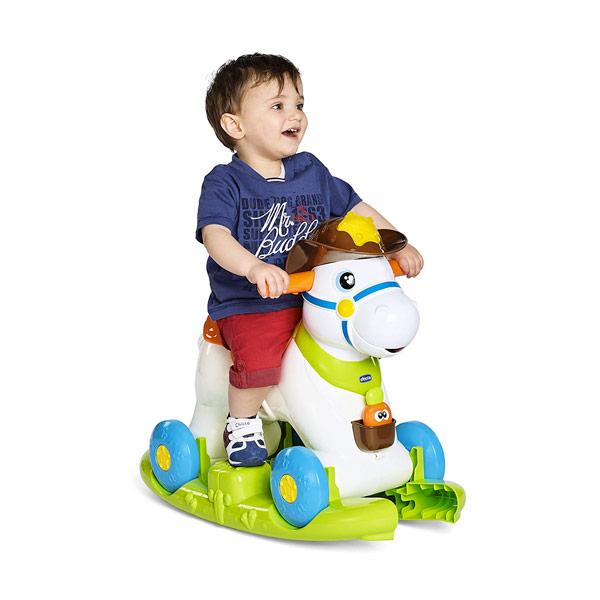 Chicco Cavallo Dondolo.Chicco Baby Rodeo Cavallo A Dondolo Cavalcabile Vespoli Giocattoli