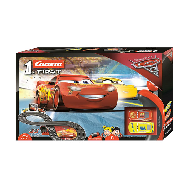 CARRERA PISTA CARS 3 CARRERA FIRST
