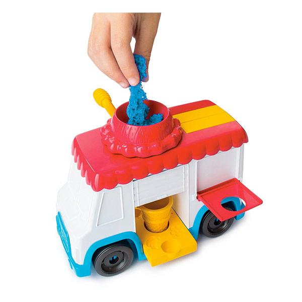 Vespoli Giocattoli Spin Master Kinetik Sand Playset Camion Dei Gelati