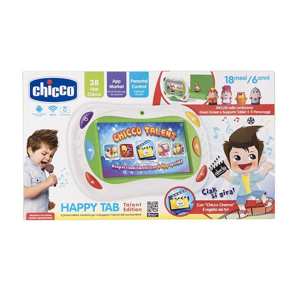 Vespoli giocattoli chicco happy tab for Happy tab chicco microfono