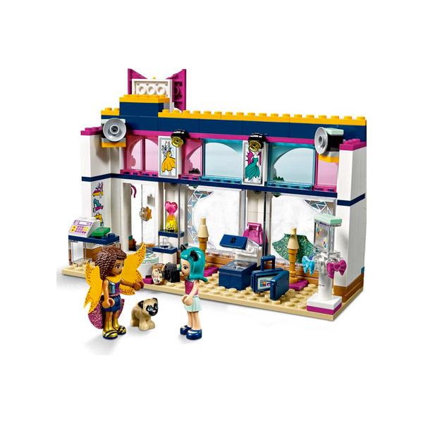 LEGO FRIENDS NEGOZIO ACCESSORI DI ANDREA - Vespoli giocattoli