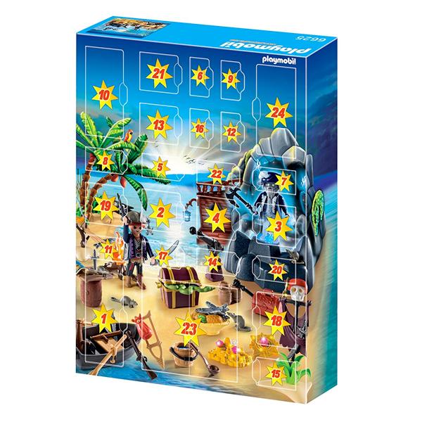 Calendario Avvento Playmobil.Playmobil Calendario Dell Avvento Tesoro Segreto Dei Pirati Vespoli Giocattoli