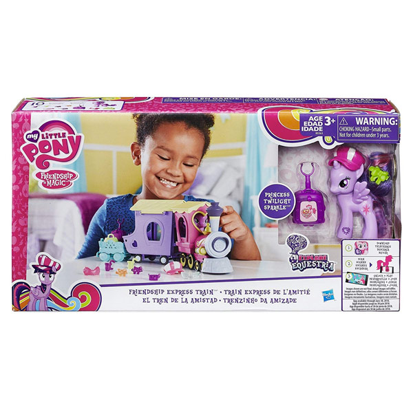 HASBRO MY LITTLE PONY TRENINO EQUESTRIA