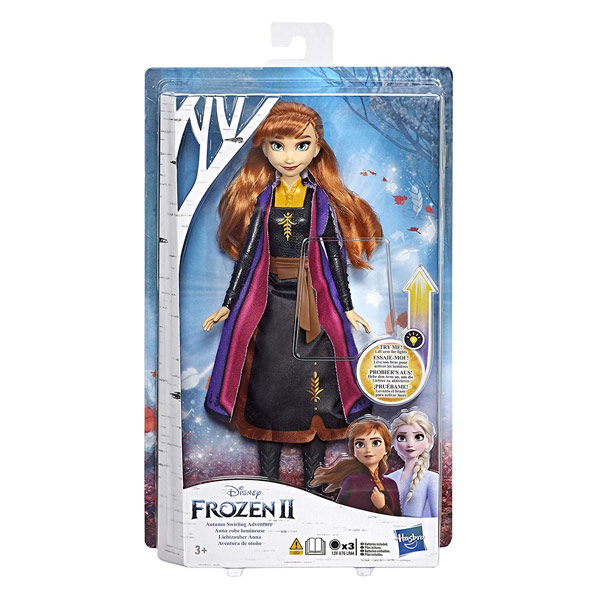 HASBRO FROZEN II ANNA CON LUCI DOLL LIGHT UP