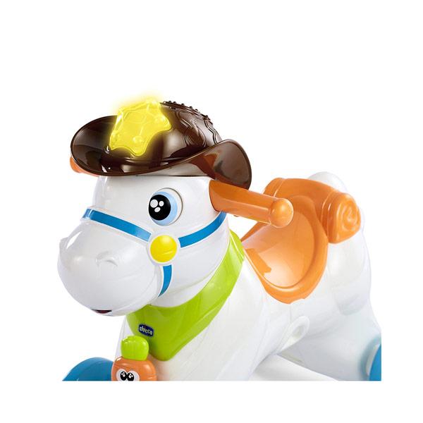Cavallo A Dondolo Chicco.Chicco Baby Rodeo Cavallo A Dondolo Cavalcabile Vespoli Giocattoli