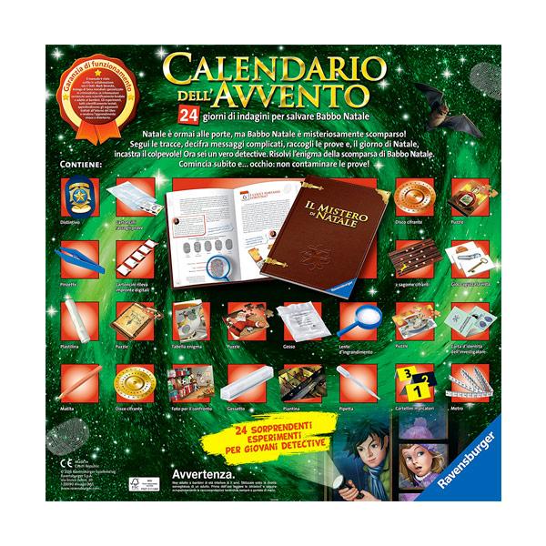 Immagini Calendario Dellavvento.Ravensburger Calendario Dell Avvento Science X Vespoli Giocattoli