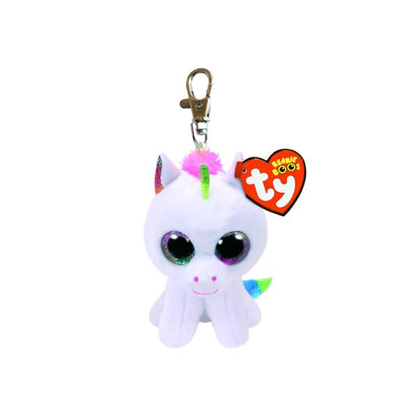 unicorno portachiavi  Vespoli giocattoli - TY PELUCHE CLIP PIXI UNICORNO PORTACHIAVI