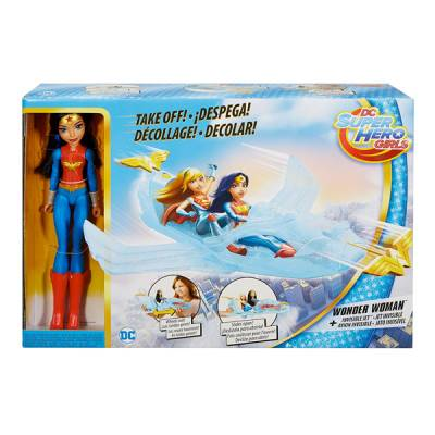 MATTEL SUPER HERO GIRL CON JET INVISIBILE