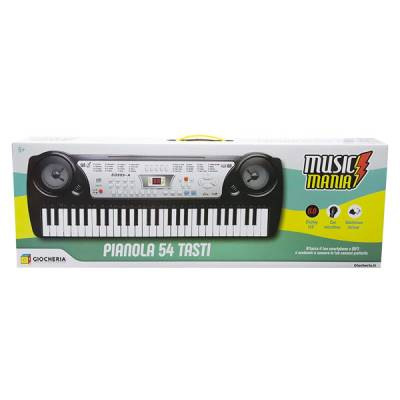 GIOCHERIA PIANOLA 54 TASTI MUSIC MANIA