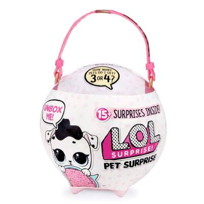 GIOCHI PREZIOSI LOL SURPRISE PET BIG CON 15 SORPRESE