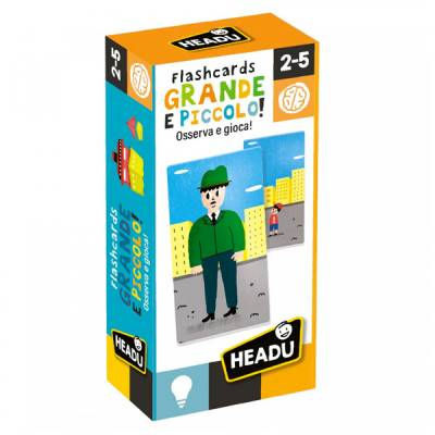 HEADU FLASHCARDS GRANDE E PICCOLO