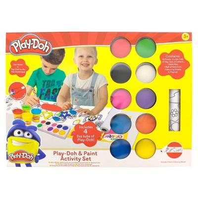 HASBRO PLAY-DOH SET CON PITTURA