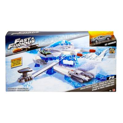 MATTEL FAST & FURIOUS FROZEN MISSILE ATTACK