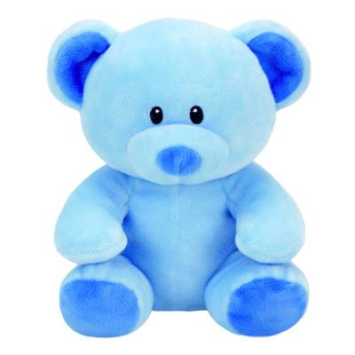 TY PELUCHE BABY TY LULLABY ORSO 17CM AZZURRO