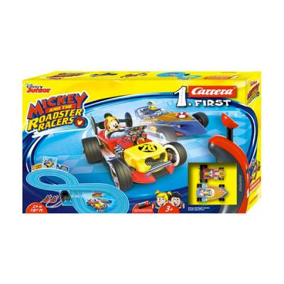CARRERA PISTA FIRST MICKEY ROADSTER RACERS