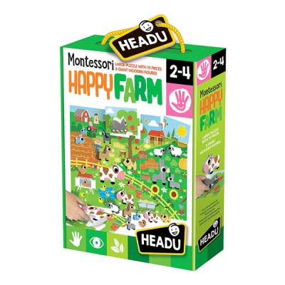 HEADU BEBY SAGOME MONTESSORI HAPPY FARM
