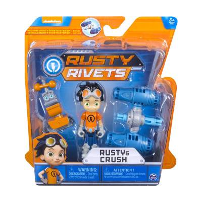 SPIN MASTER RUSTY RIVETS PERS CON ACCESSORI ASSORTITO
