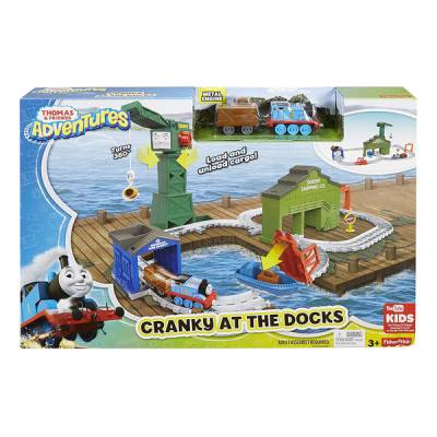 FISHER PRICE THOMAS & FRIENDS CRANKY AL PORTO