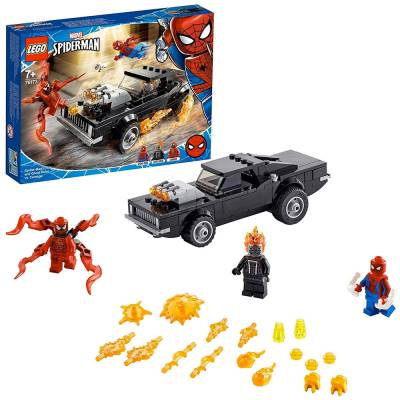 LEGO SUPER HEROES SPIDER-MAN E GHOST RIDER VS CARNAGE