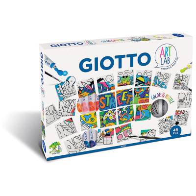 FILA GIOTTO ART LAB COLOR E PUZZLE