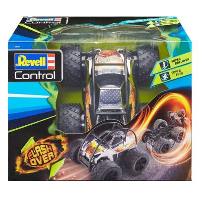 VESPOLI GIOCATTOLI AUTO R/C STUNT CAR FLASH OVER