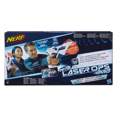 HASBRO NERF LASER OPS ALPHAPOINT CONFEZIONE 2 PEZZI