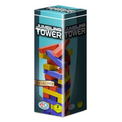 SPIN MASTER JUMBLING TOWER A COLORI IN LEGNO