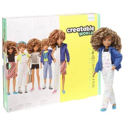 MATTEL CREATABLE WORLD DELUXE