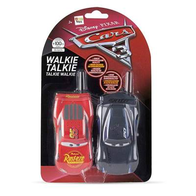 IMC TOYS WALKIE TALKIE CARS MCQUEEN/JACKSON 2.4 GHZ