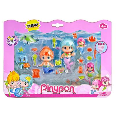 FAMOSA PINYPON SET SIRENE