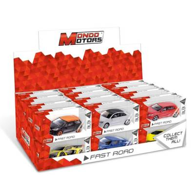 MONDO AUTO FAST ROAD 1:43 ASSORTITE