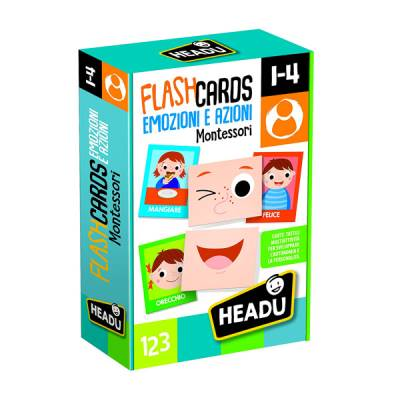HEADU FLASHCARDS MONTESSORI ACTION