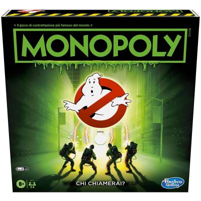 HASBRO MONOPOLY GHOSTBUSTERS EDITION