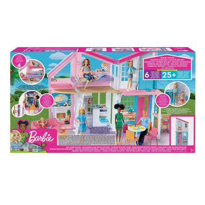 MATTEL BARBIE CASA DI MALIBU PLAYSET RICHIUDIBILE SU DUE PIANI