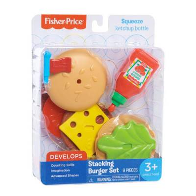 FISHER PRICE BURGER SET