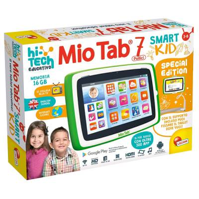 "LISCIANI MIO TAB 7"" SPECIAL EDITION SMART KID TABLET PRESCOLARE"