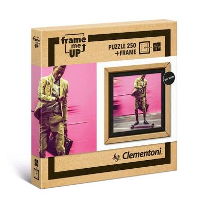 CLEMENTONI PUZZLE FRAME ME UP 250 PZ LIVING FASTER