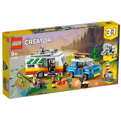 LEGO CREATOR 3 IN 1 VACANZE IN ROULOTTE