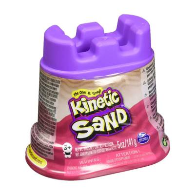 SPIN MASTER KINETIC SAND MINI CASTELLO CON SABBIA MODELLABILE