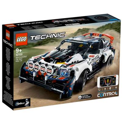 LEGO TECHNIC AUTO RALLY TOP GEAR R/C TRAMITE APP
