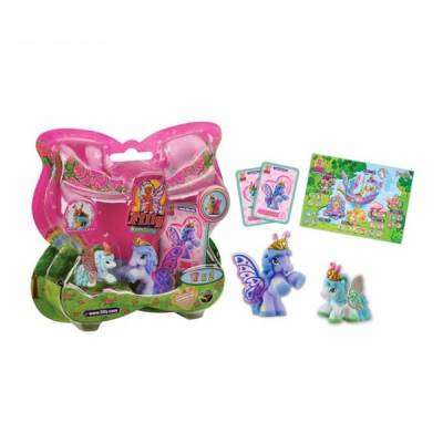 GRANDI GIOCHI BLISTER BUTTERFLY FILLY CON 1 BABY