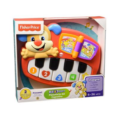 MATTEL FISHER PRICE PIANOFORTE DEL CAGNOLINO