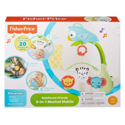 FISHER PRICE GIOSTRINA ANIMALI DELLA FORESTA