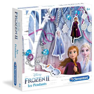 CLEMENTONI FROZEN II ICE PENDANTS