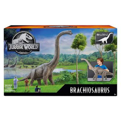 MATTEL JURASSIC WORLD BRANCHIOSAURO 70 CM