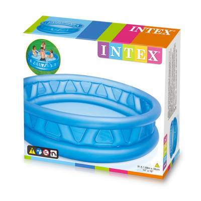 INTEX PISCINA TRIANGOLI SOFT 188 X 46 CM