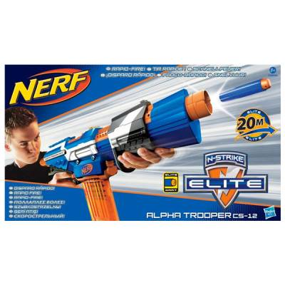 HASBRO NERF N-STRIKE ALPHA TROOPER